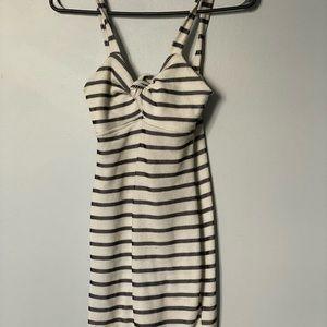 Forever 21 Bodycon Stripe Dress